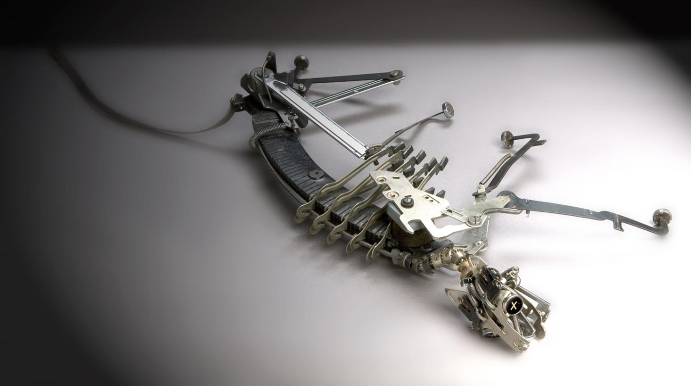 Jeremy Mayer – Cat – Typewriter part sculpture