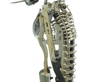 Jeremy Mayer – Typewriter assemblage sculpture – Penguin III
