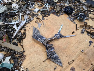 Jeremy Mayer – Typewriter assemblage sculpture