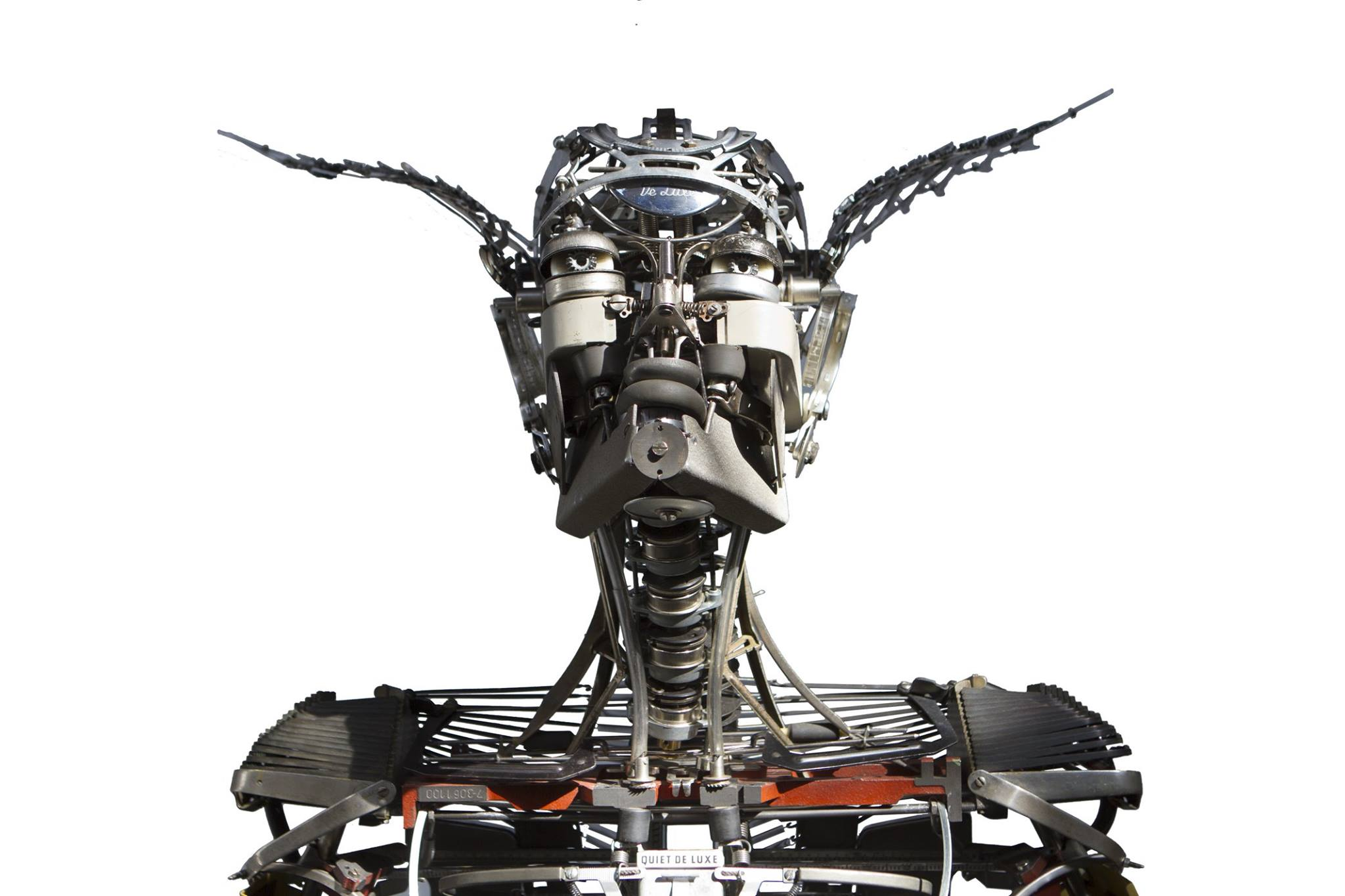 Jeremy Mayer – Typewriter assemblage sculpture