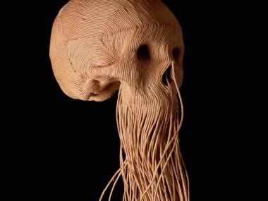 Jim skull – Corde de papier serie