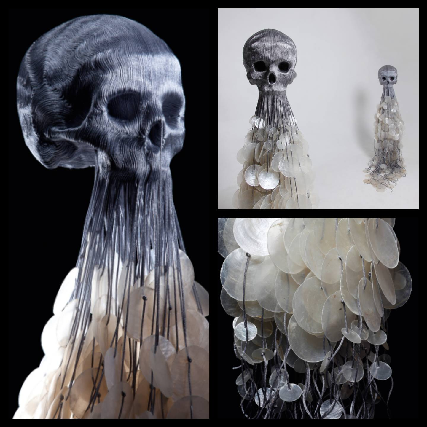 Jim skull – Sculptures