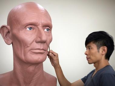 Kazuhiro Tsuji – Sculptor portrait