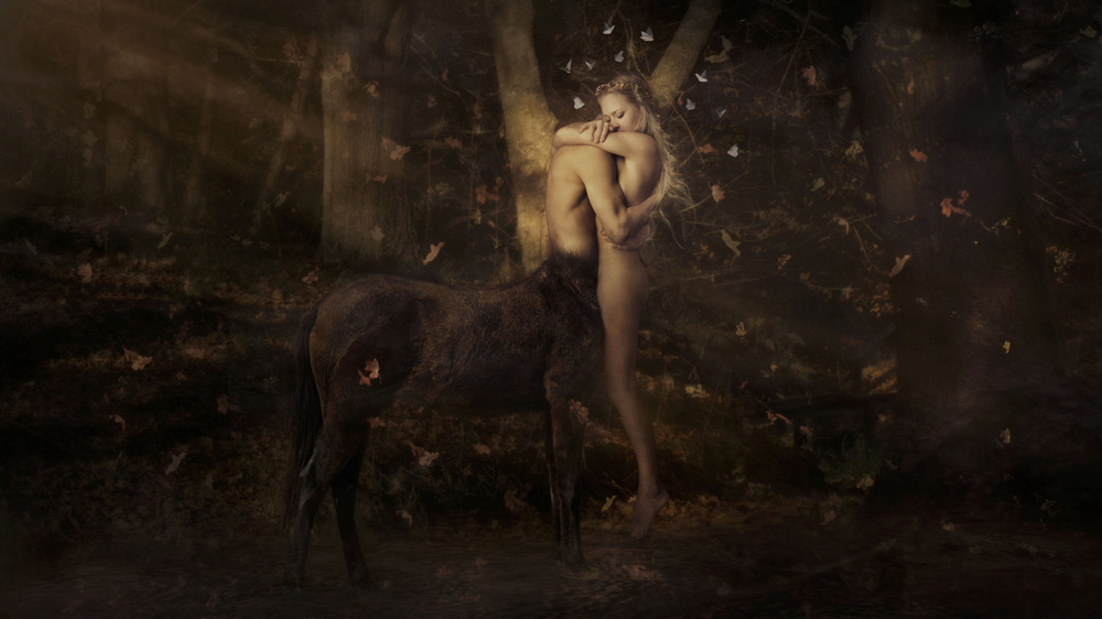 "Richard Wood – Creative Portrait Centaur ""In Love with the Myth"""
