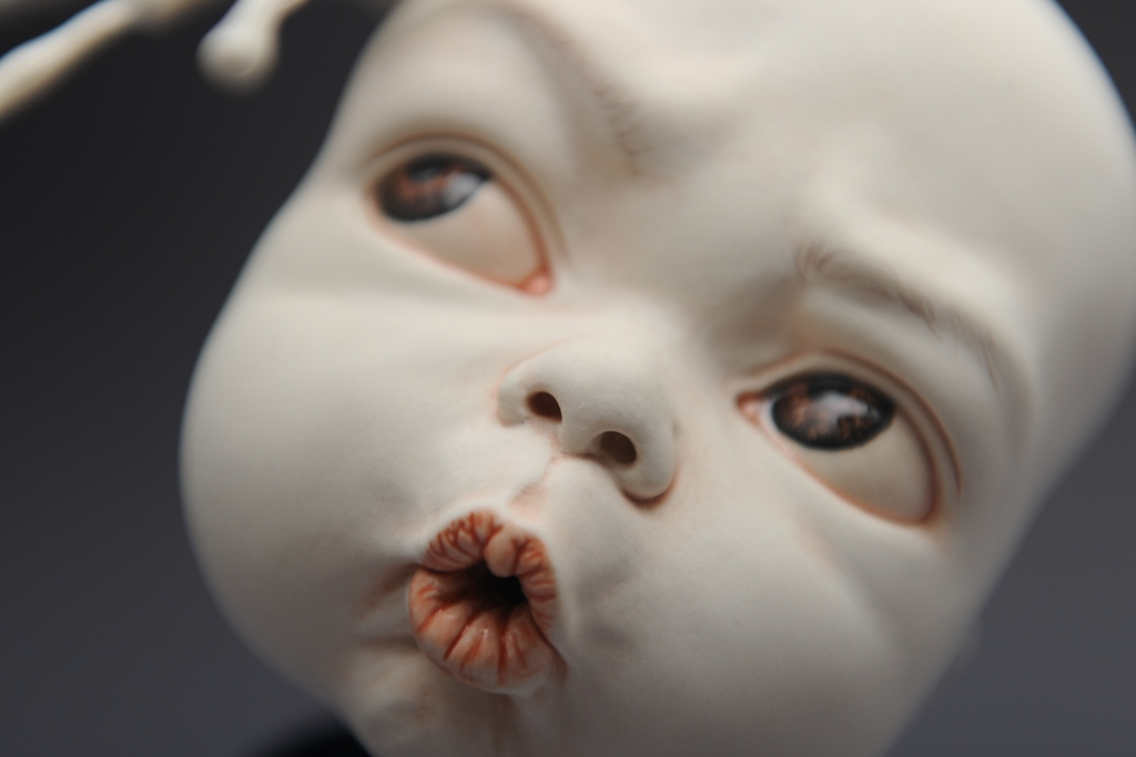 "Johnson Tsang – Sculpture ""Oops"""