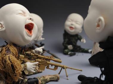 "Johnson Tsang – Sculpture ""Security Summit"""