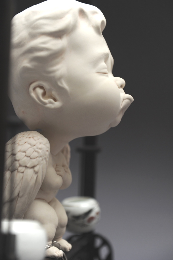 "Johnson Tsang – Sculpture ""The guardian"""