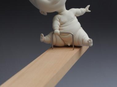 """Johnson Tsang – Sculpture """"We Luv U Dad!"""""""