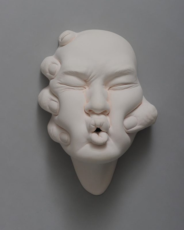 'The Backup' – sculpture by Johnson Tsang