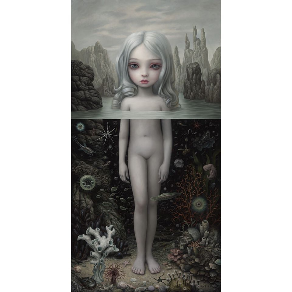 Mark Ryden – Aurora painting