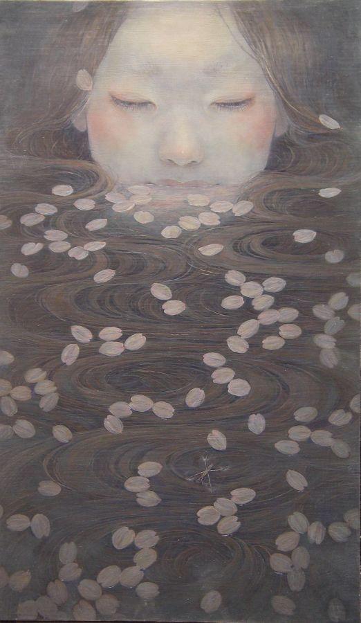Miho Hirano - Oil painting - 2009