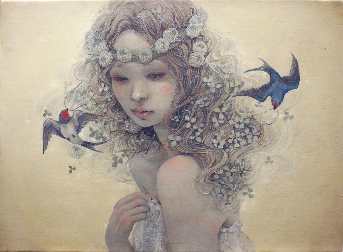 Miho Hirano – Oil painting – 2011