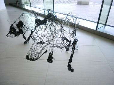David Oliveira – Wire sculptures dog