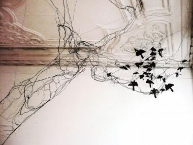 David Oliveira – Wire sculptures tree birds