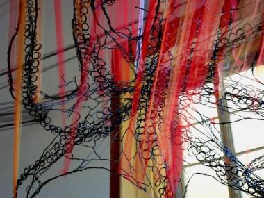 David Oliveira – Wire sculptures Octopus