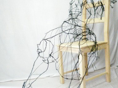 David Oliveira – Wire sculptures