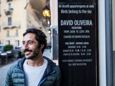 David Oliveira – portrait sculpteur Portugal