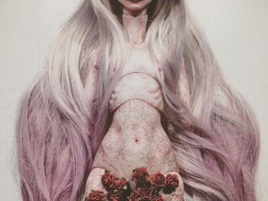 Emilie Steele Art doll's – From my rotting body, flowers shall grow and I am in them and that is eternity