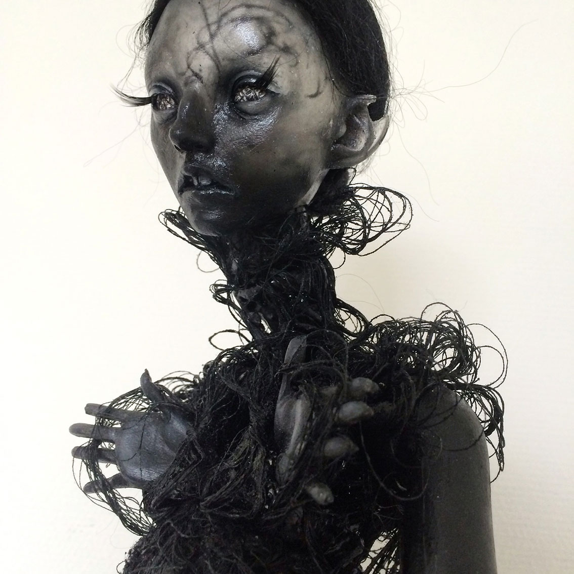 Emilie Steele Art doll's – Torn
