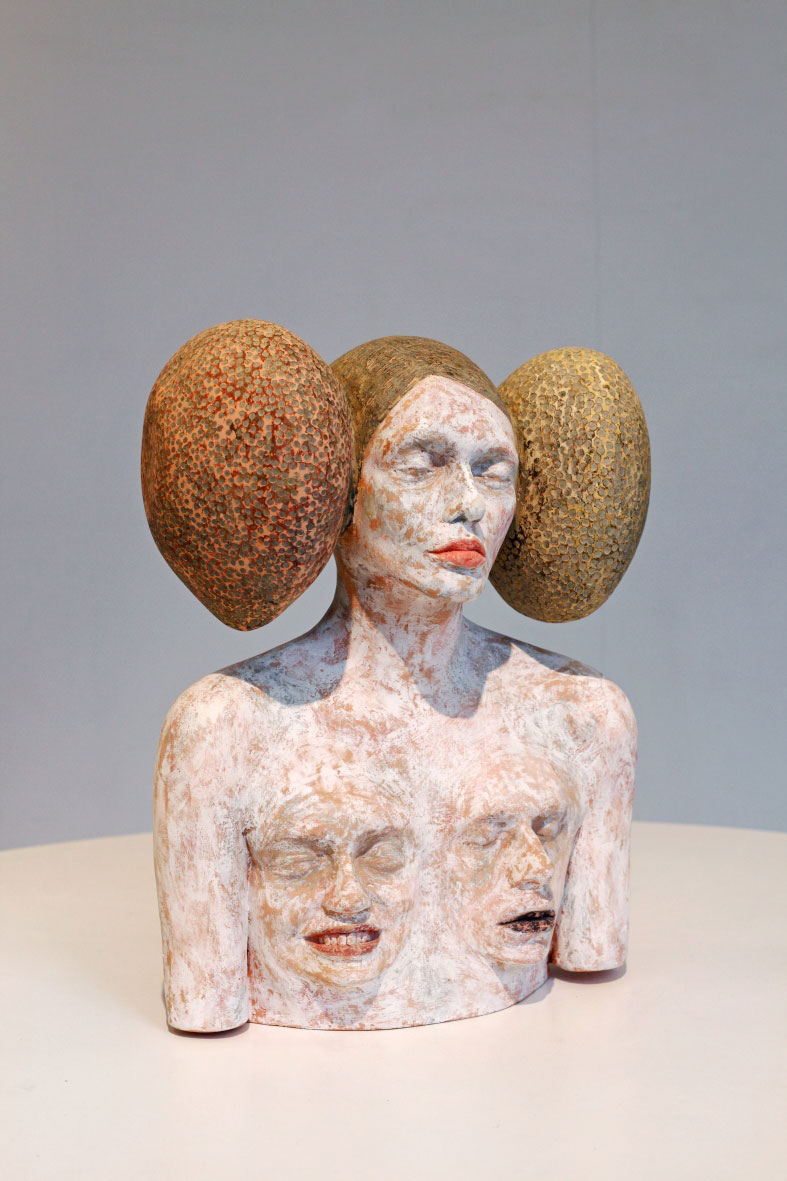 Ivan Prieto – Surreal sculptures – ICARUS. Wroclaw 2014