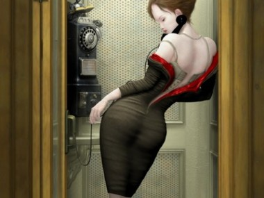 Ray Caesar – Digital art – Night call