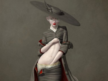 Ray Caesar – Digital art – Self examination