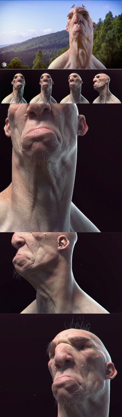 Tom Newbury - 3D sculpture