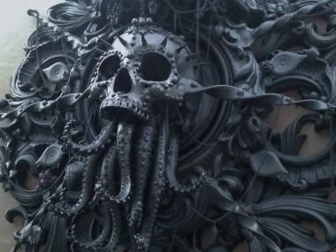 """Cam Rackam – """"Cthulhu"""" sculpture"""