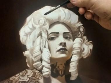 Cam Rackam – painting