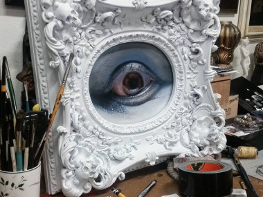 Cam Rackam – Sculptures – Red Eye