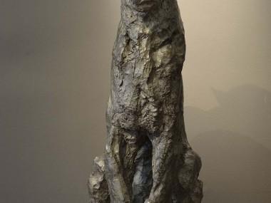 Patrick Villas – Sculptures – Léopard assis – Bronze – 90 x 55 x 40 cm