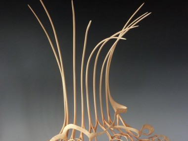 Alain Mailland – Sculpture Eight Dreams – Loupe d'arbousier
