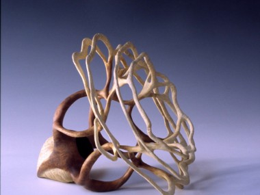 Alain Mailland – Sculpture La graine – Loupe d'Acacia