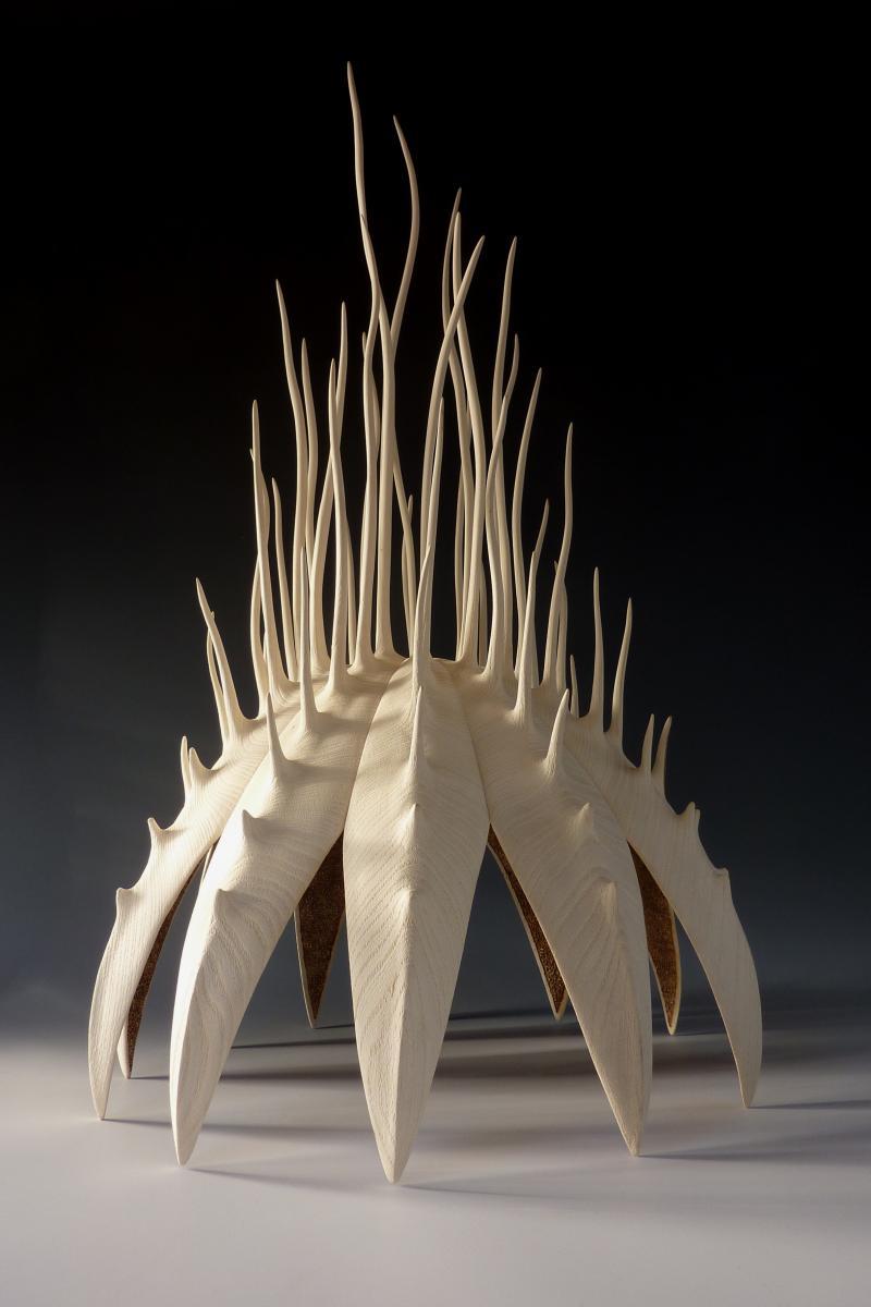Alain Mailland – Sculpture Pavillon de la mer – Micocoulier