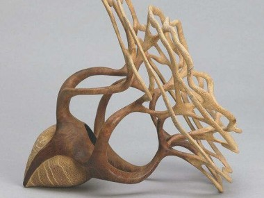 Alain Mailland – Sculpture the seed – Loupe d'Acacia