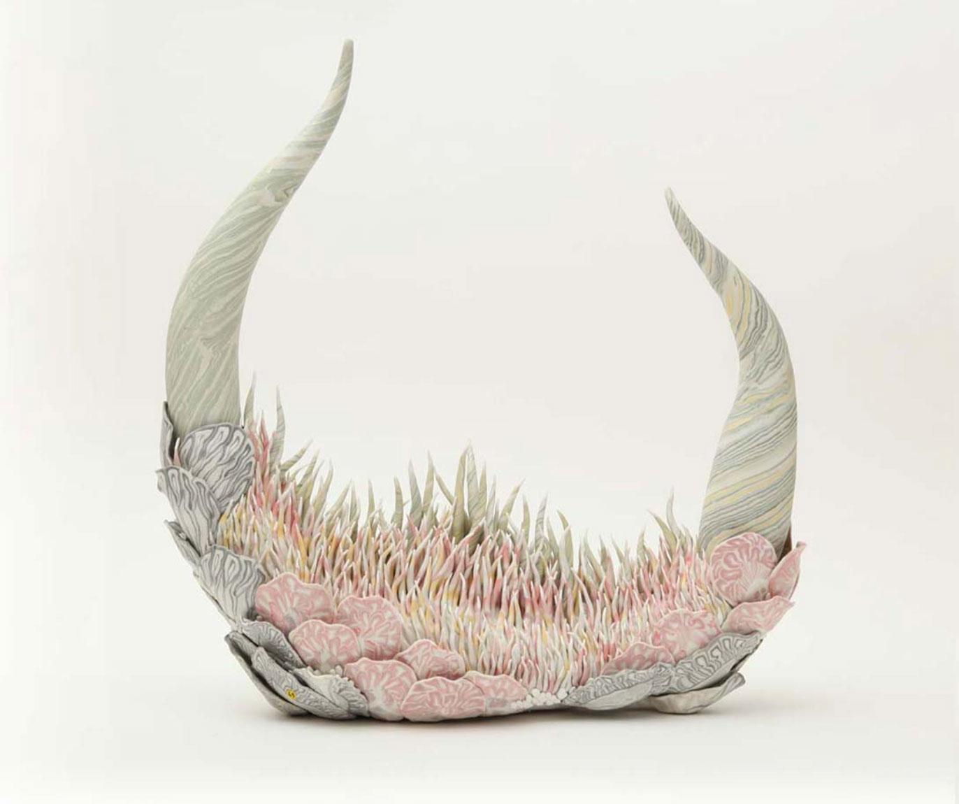 Konno Tomoko - Ceramic artist - Organic sculptures