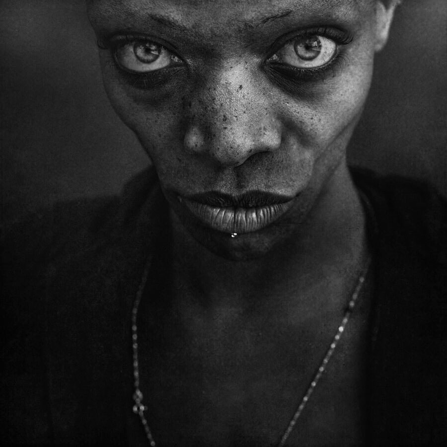 Lee Jeffries photography – Power portrait