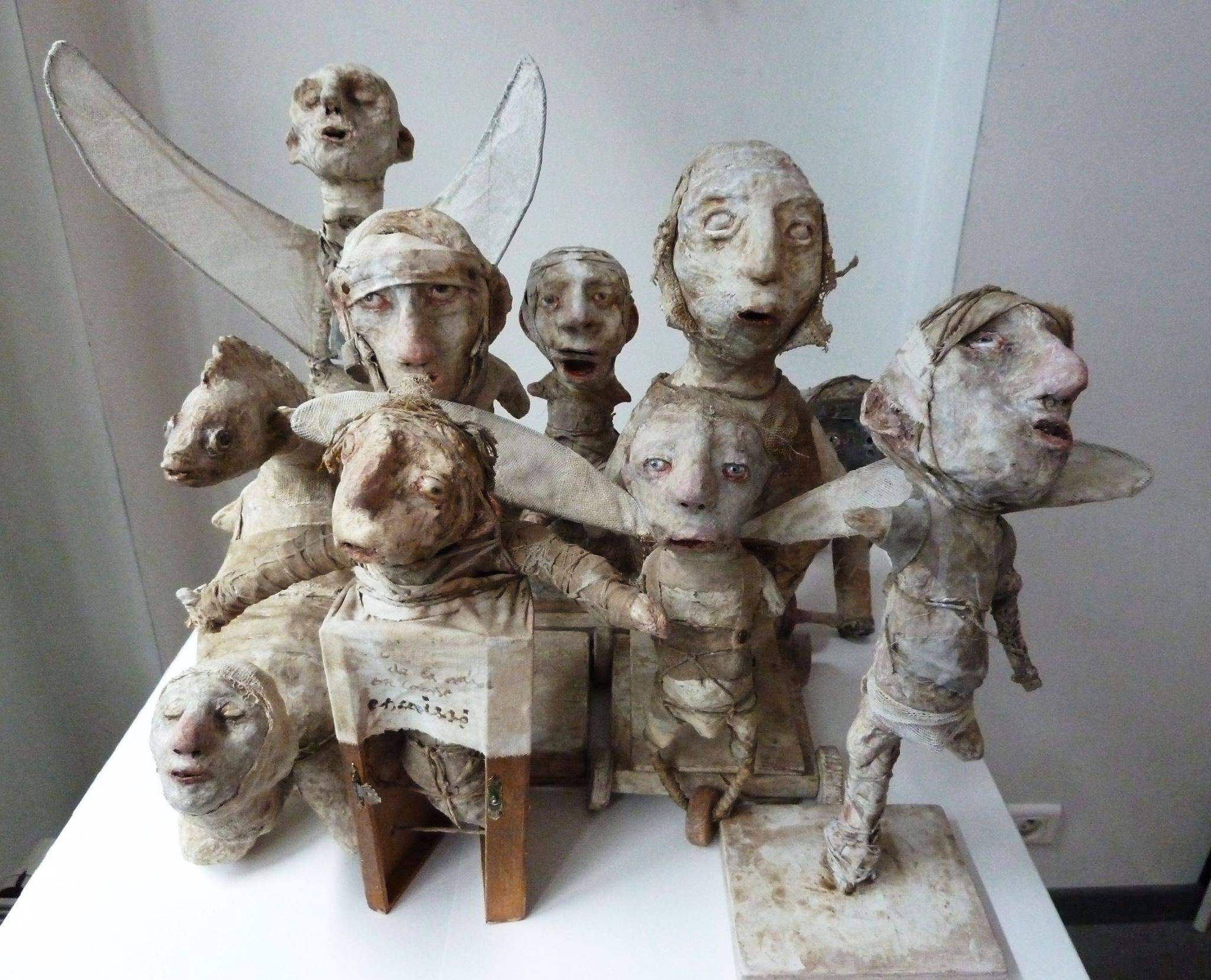Stroff Denis – Sculptures Mixed Media Art