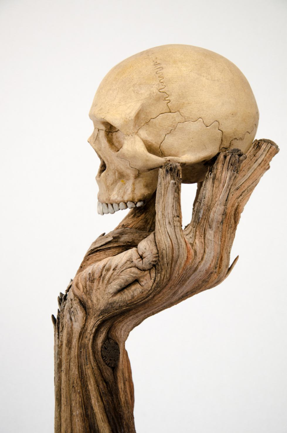 Christopher David White – Alas, Poor Yorick – Sculpture