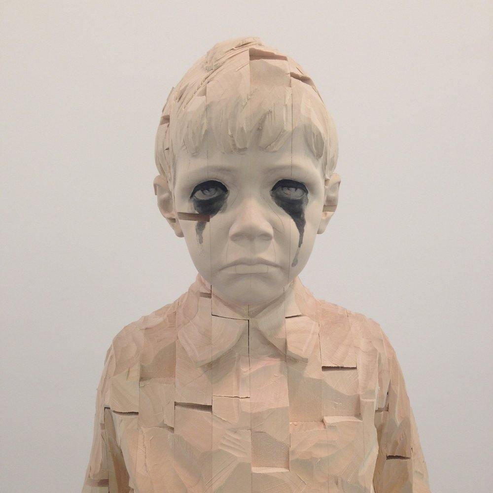 Gehard Demetz - Wood sculptures
