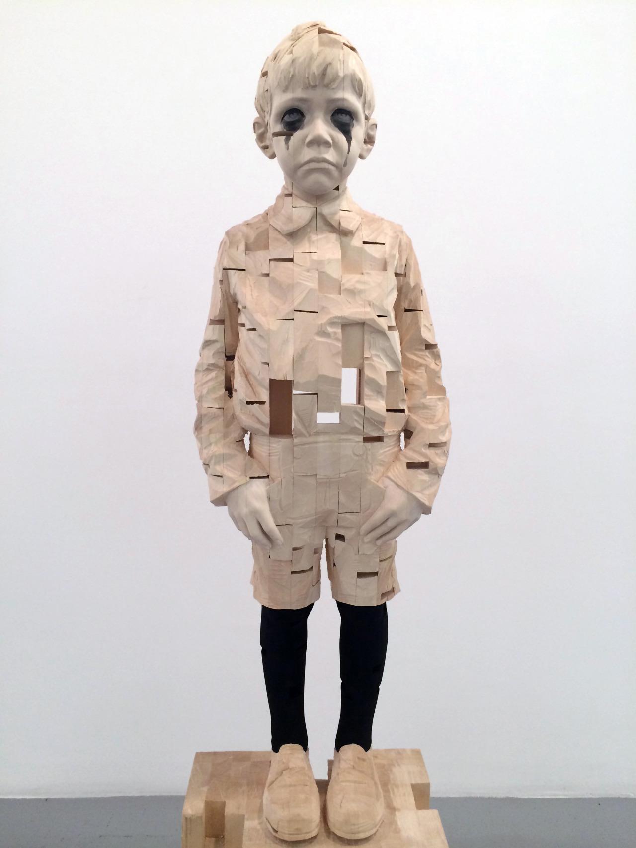 Gehard Demetz – Wood sculptures