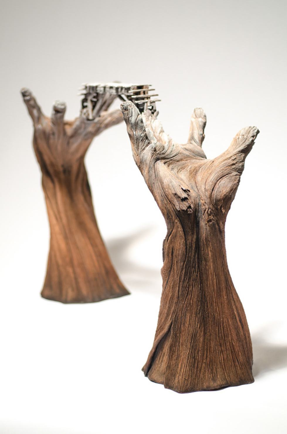 Christopher David White – Going Hand In Hand – Sculpture