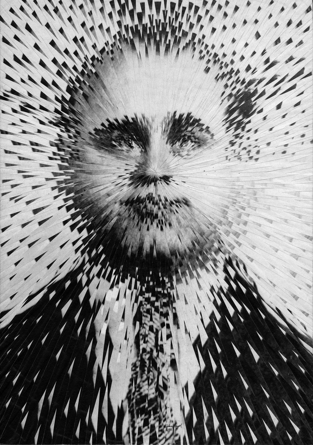 Lola Dupré – Paper collage – Al Capone