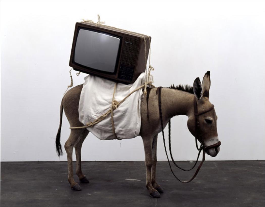 Maurizio Cattelan – Donkey