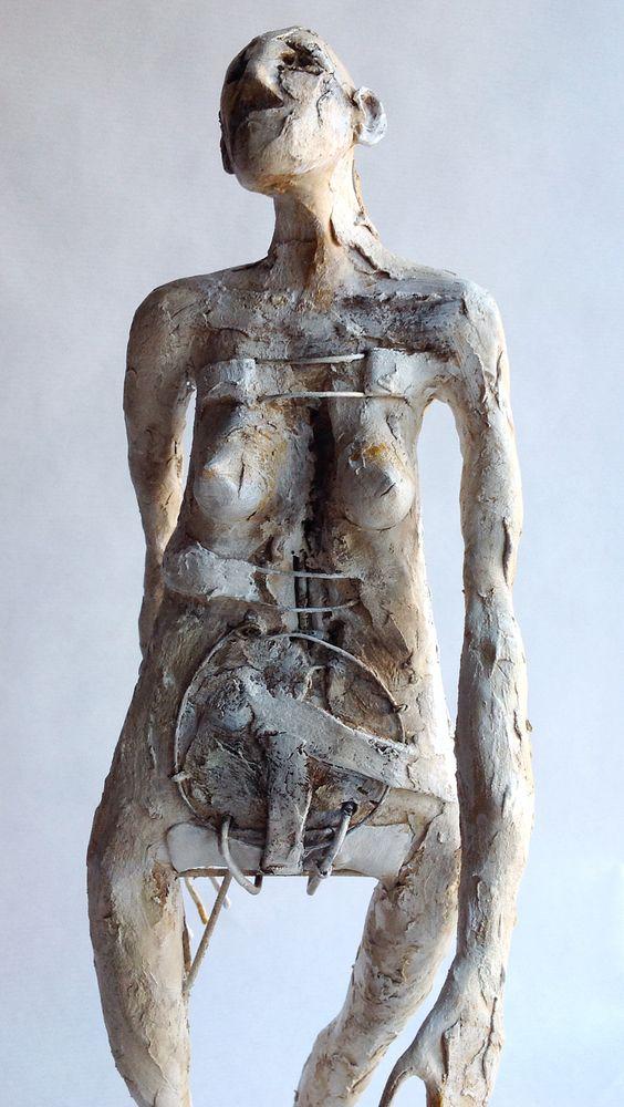 Pablo Hueso – Sculpture – figura-ma344-2016
