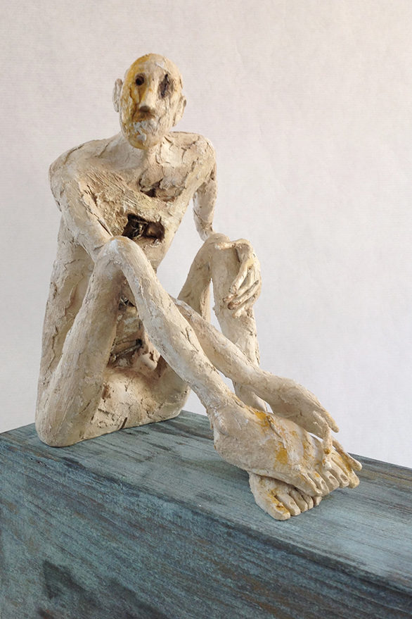 Pablo Hueso – Sculpture – Figura-ne-334-2016