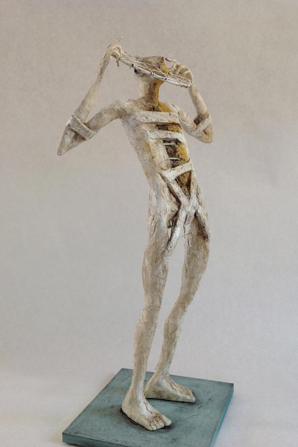 Pablo Hueso – Sculpture – Figura-ne-340-2016