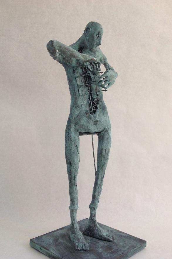 Pablo Hueso - Sculpture - figura-ne-342-2016