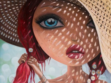 Adrian Borda – That Perfect Love I Never Had – oil on canvas 45x55cm
