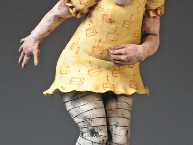 Magda Gluszek – Too Much Cake, 2006, terracotta